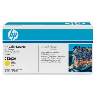 HP 648A (CE262A) - toner, yellow (sárga)