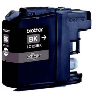 Brother LC-123 (LC123BK) - patron, black (fekete)