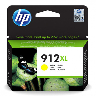 HP 912-XL (3YL83AE#301) - patron, yellow (sárga)