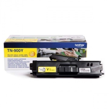 Brother TN-900 (TN900Y) - eredeti toner, yellow (sárga)